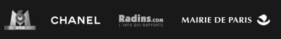 Clients référencement Chanel, M6Web, Radins.com